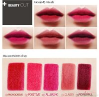 Son lì bbia last lipstick red series
