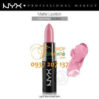 Son lì NYX Matte Lipstick Pale Pink