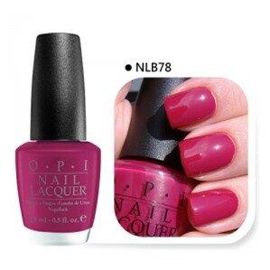 Sơn móng OPI #NLB78 Miami Beet Nail Polish 15ml