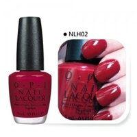 Sơn móng OPI #NLF52 Bogota Blackberry Nail Polish 15ml