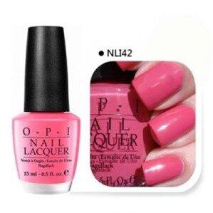 Sơn móng OPI #NLI42 Elephantastic Pink Nail Polish 15ml