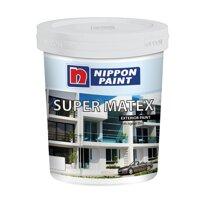 Sơn Phủ Ngoài Nhà Nippon NP-Super-Matex - 18 lít