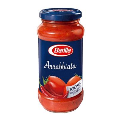 Sốt mì Ý Arrabbiata hiệu Barilla 400g
