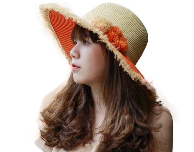 Straw Hat Zigzag – HAT00201