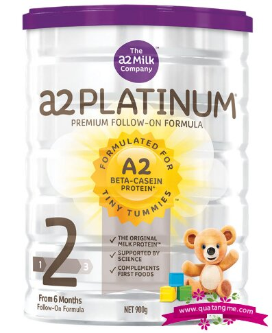 Sữa A2 Platinum số 2 Follow On Formula Stage 900g