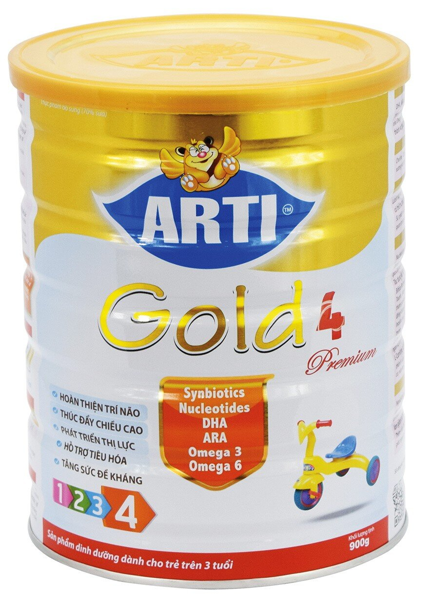 Sữa Arti Gold 4 Premium 900g
