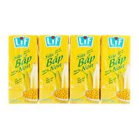 Sữa bắp non LiF lốc 4 hộp x 180ml