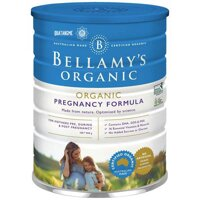 Sữa bầu của Bellamy Organic hộp 900gr