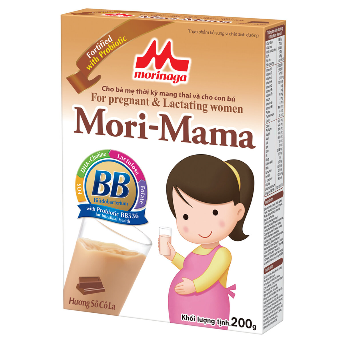 Sữa bầu Morinaga Mori-mama - hộp 200g