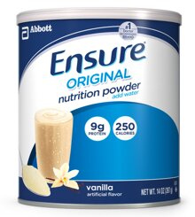 Sữa bột Abbott Ensure Nutrition Powder của Mỹ - hộp 397g