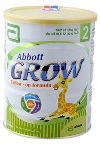 Sữa bột Abbott Grow 2 - hộp 900g (dành cho trẻ từ 6 - 12 tháng)
