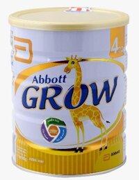 Sữa bột Abbott Grow 4 - hộp 900g (dành cho trẻ từ 3 - 6 tuổi)