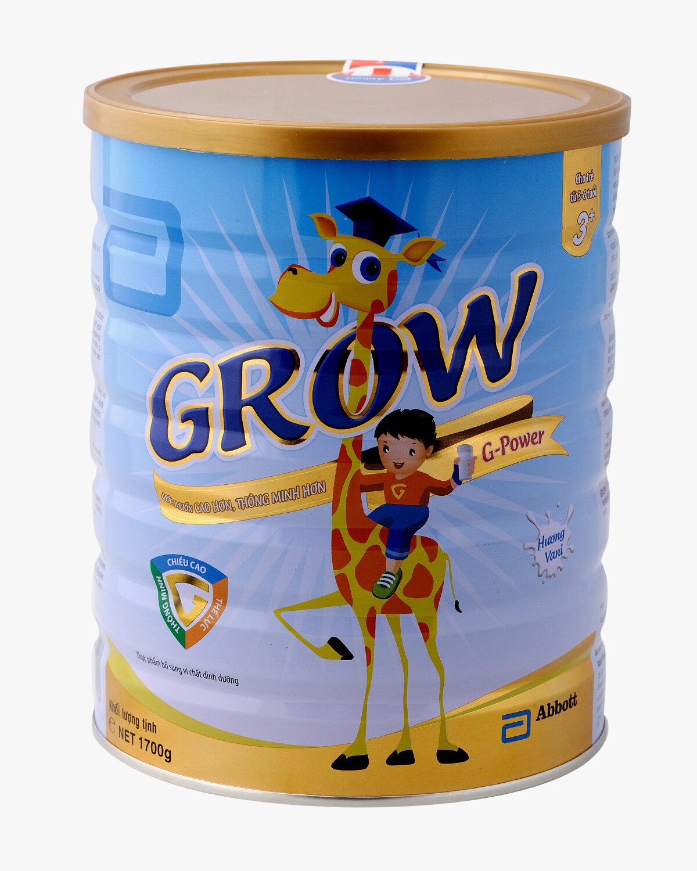 Sữa bột Abbott Grow G-Power 3+ - hộp 900g (dành cho trẻ từ 3 - 6 tuổi)