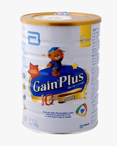 Sữa bột Abbott Similac Gain Plus IQ 3 - hộp 1700g (dành cho trẻ từ 1 - 3 tuổi)