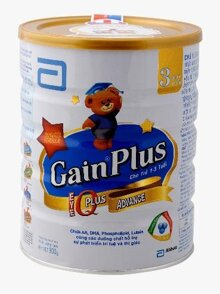 Sữa bột Abbott Similac Gain Plus IQ 3 - hộp 900g (dành cho trẻ từ 1 - 3 tuổi)