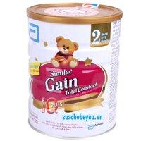 Sữa bột Abbott Similac Gain Total Comfort 2 - hộp 820g (dành cho trẻ từ 6 - 12 tháng)