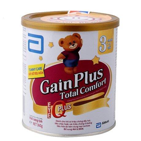Sữa bột Abbott Similac Gain Plus Total Comfort 3 - hộp 360g (dành cho trẻ từ 1 - 3 tuổi)