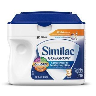 Sữa bột Abbott Similac Go & Grown - hộp 657g (dành cho trẻ từ 12-24 tháng tuổi)