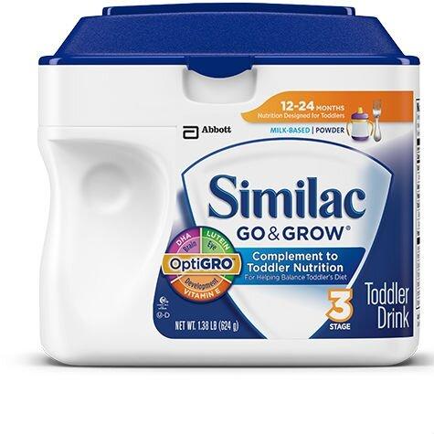 Sữa bột Abbott Similac Go & Grow - hộp 624g (dành cho trẻ từ 9 - 24 tháng)