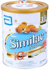 Sữa bột Abbott Similac IQ số 1 - hộp 900g (dành cho trẻ từ 0-6 tháng tuổi)