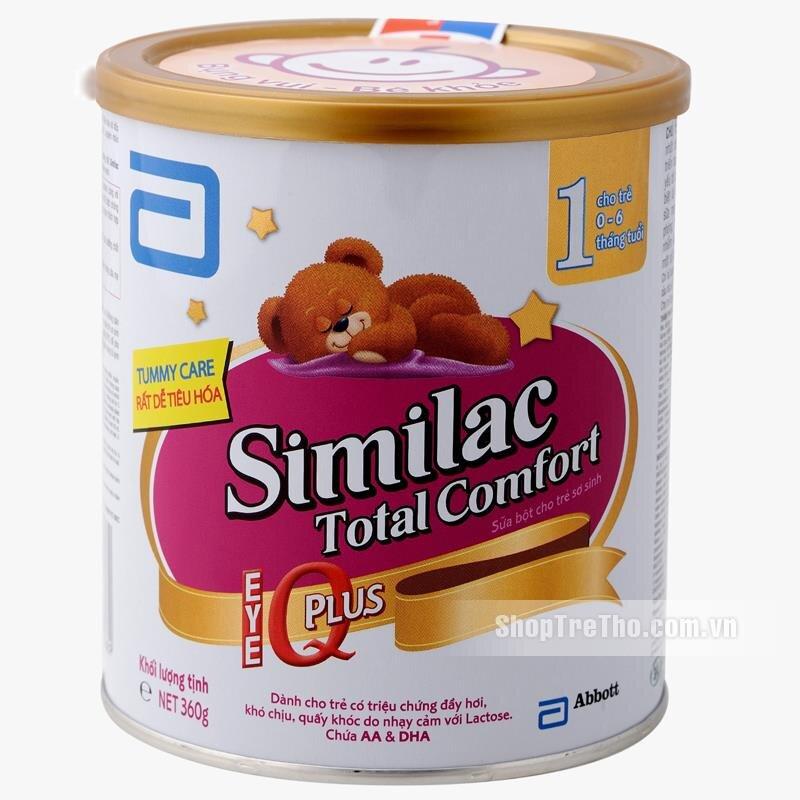 Sữa bột Abbott Similac Total Comfort 1 - hộp 360g (dành cho trẻ từ 0 - 6 tháng)