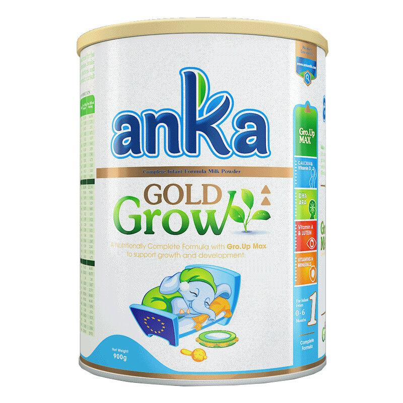 Sữa bột Anka Gold Grow số 1 - hộp 900g (0 - 6 tháng)