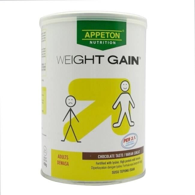 Sữa bột Appeton Weight Gain Adult - hộp 450 g