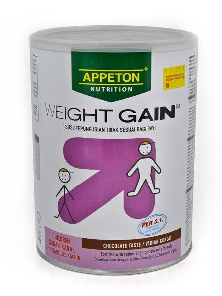 Sữa bột Appeton Weight Gain Child - hộp 900g