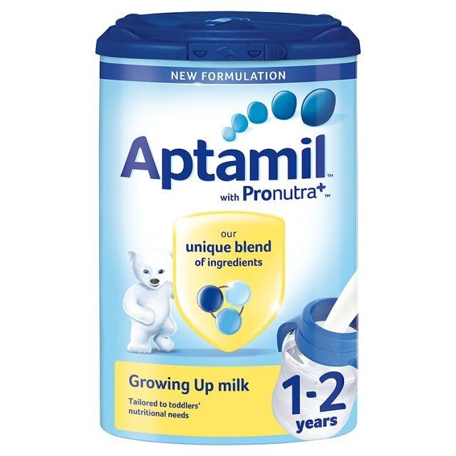 Sữa bột Aptamil 1+ Anh - hộp 900g (dành cho trẻ từ 1 - 2 tuổi)