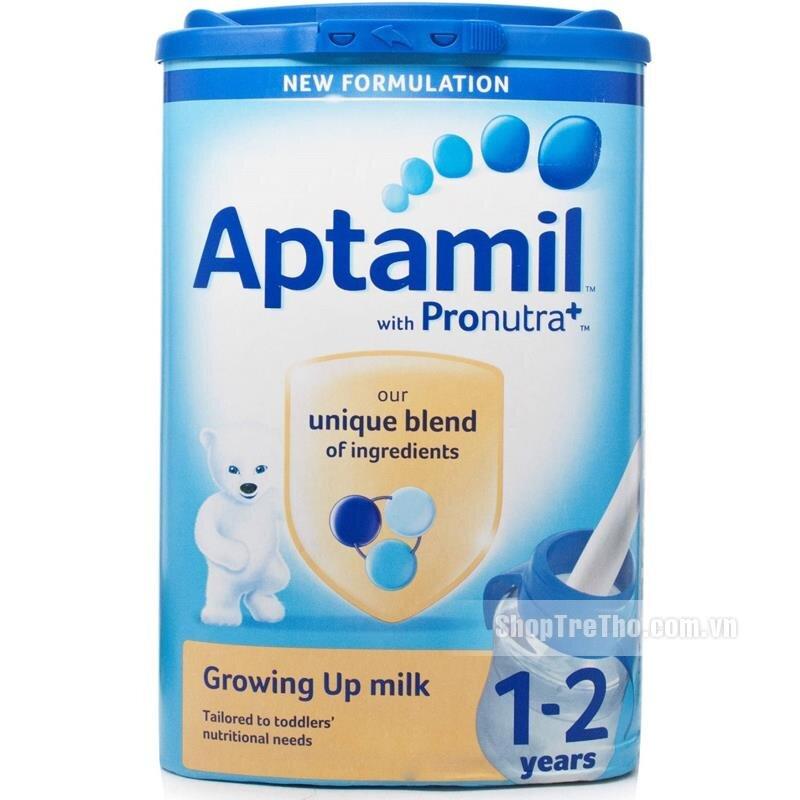 Sữa bột Aptamil 1 Anh - hộp 900g (dành cho trẻ từ 0 - 6 tháng)
