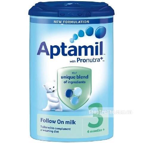 Sữa bột Aptamil 3 Anh - hộp 900g (dành cho trẻ từ 1 - 3 tuổi)
