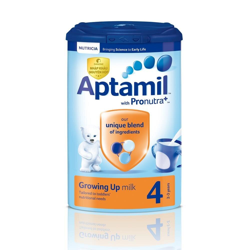Sữa bột Aptamil Anh số 4 - 900g (cho trẻ từ 2 tuổi trở lên)