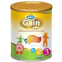 Sữa bột Arti Gain Gold 123 - 900g (dành cho trẻ từ 6 tháng đến 36 tháng)