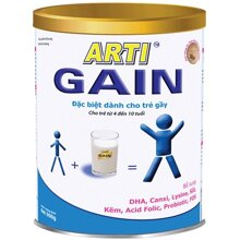 Sữa bột Arti Gain số 2 - hộp 900g (dành cho trẻ gầy từ 4-10 tuổi)