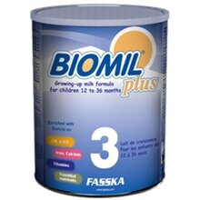 Sữa bột Biomil Plus số 3 - hộp 400g  (1 - 3 tuổi)