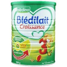 Sữa bột Bledina số 3 Pháp - hộp 900g (1-3 tuổi)
