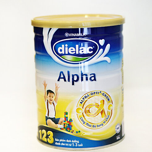 Sữa bột Dielac Alpha 123 - hộp 900g (dành cho trẻ từ 1 - 3 tuổi)
