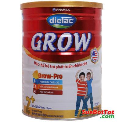 Sữa bột Dielac Grow 2+ 900g (2 - 10 tuổi)