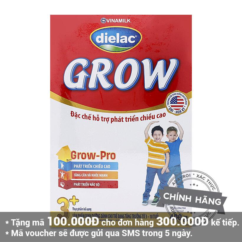 Sữa bột Dielac Grow 3+ - hộp 400g (dành cho trẻ từ 3-10 tuổi)