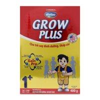 Sữa bột Dielac Grow Plus 1+ - hộp giấy 400g (1 - 2 tuổi)