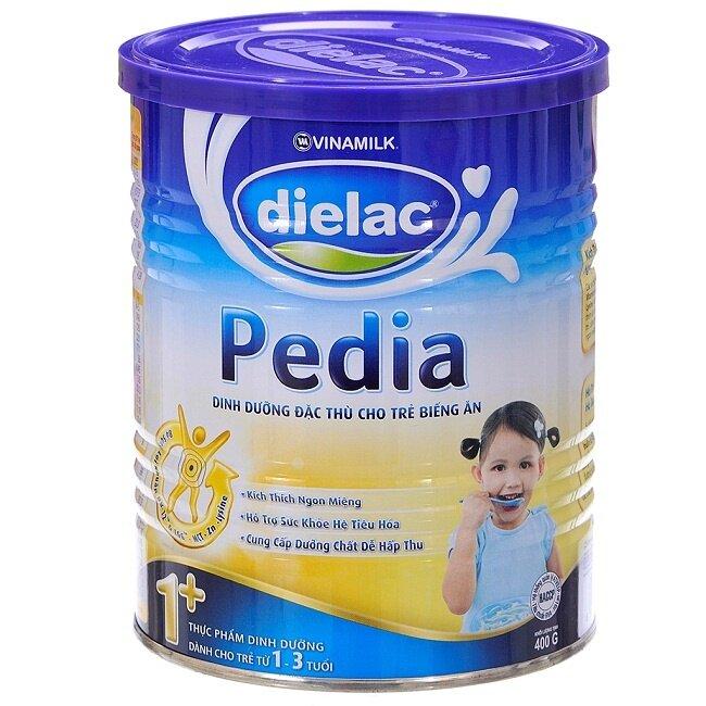 Sữa bột Dielac Pedia 1+ - hộp 400g (dành cho trẻ từ 1 - 3 tuổi)