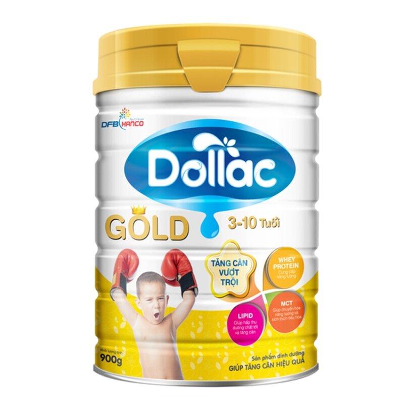 Sữa bột Dollac Gold 900gr