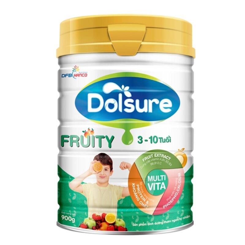 Sữa Bột Dolsure Fruity 900g