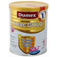 Sữa bột Dumex Dulac Gold 1 - hộp 400g (dành cho trẻ từ 0 - 6 tháng)