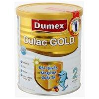 Sữa bột Dumex Dulac Gold 2 - hộp 800g (dành cho trẻ từ 6 - 12 tháng)