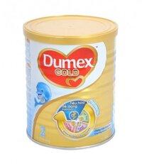 Sữa bột Dumex Dulac Gold 2 - hộp 400g (dành cho trẻ từ 6 - 12 tháng)