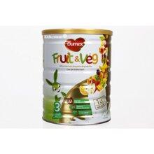 Sữa bột Dumex Fruit & Veg số 3 hộp 800g
