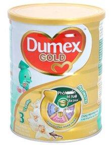 Sữa bột Dumex Gold 3 - hộp 800g (dành cho trẻ từ 1 - 3 tuổi)