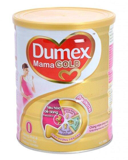 Sữa bột Dumex Mama Gold - hộp 800g (dành cho bà mẹ mang thai và cho con bú)