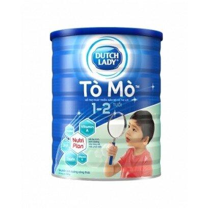 Sữa bột Dutch Lady Cô gái Hà Lan Tò Mò - hộp 900g (dành cho trẻ từ 1-2 tuổi)